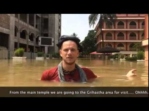Iskcon Mayapur Flood Aug 2015 (3-3) by 24 Kirtan Mayapur
